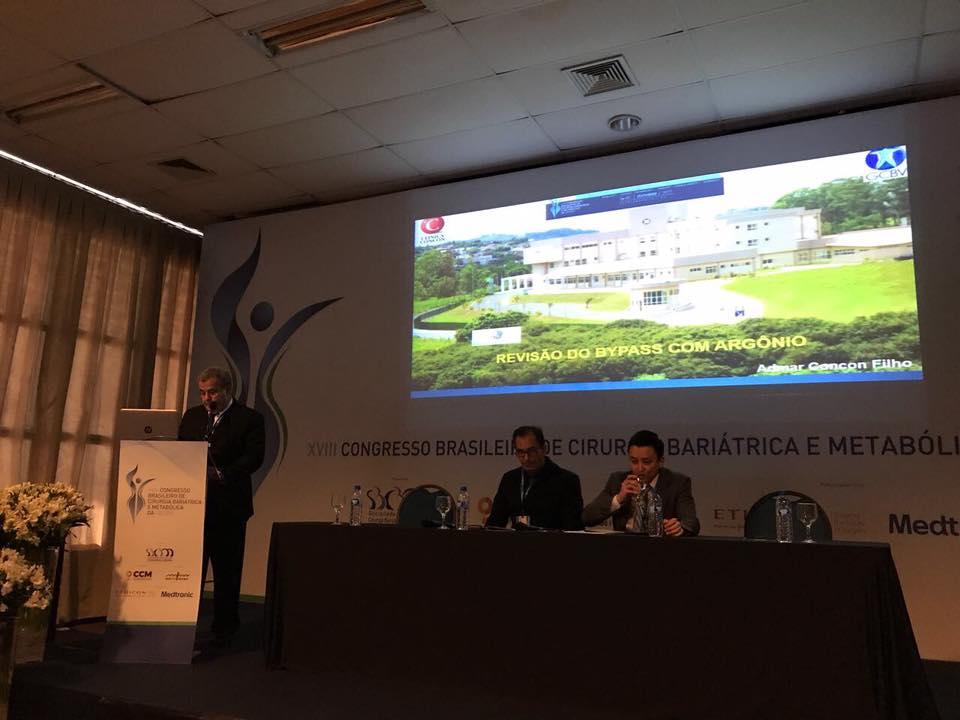 Equipe Clínica Concon / GCBV no VIII Congresso Brasileiro de Cirurgia Bariátrica e Metabólica