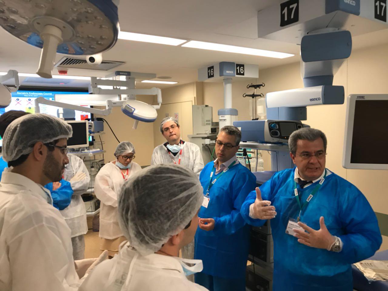 """Dr Admar Concon Filho participa como instrutor do """"Bariatric Endoscopy Course"""", no IRCAD América Latina / RJ"""