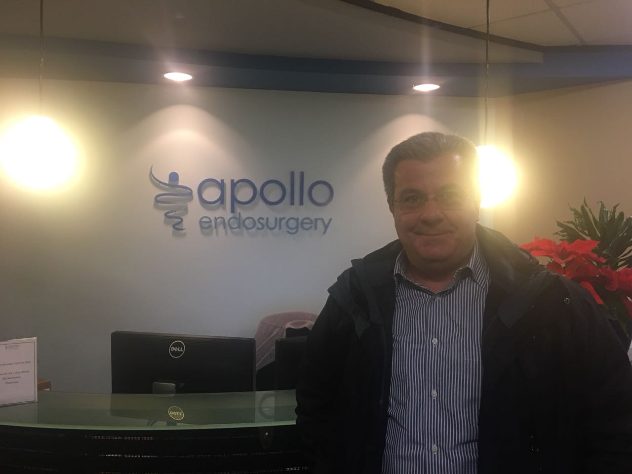 Visita à Apollo Endosurgery