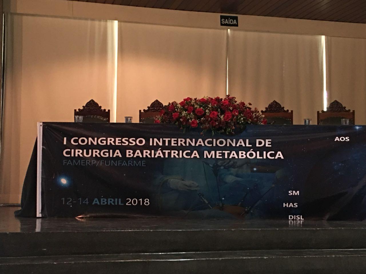 I Congresso Internacional de Cirurgia Bariátrica Metabólica FAMERP/FUNFARME