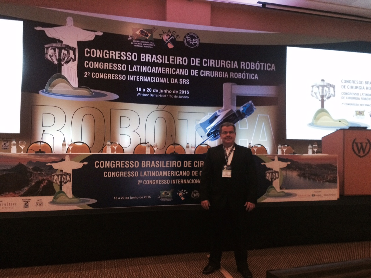 Congresso Brasileiro de Cirurgia Robótica 2015