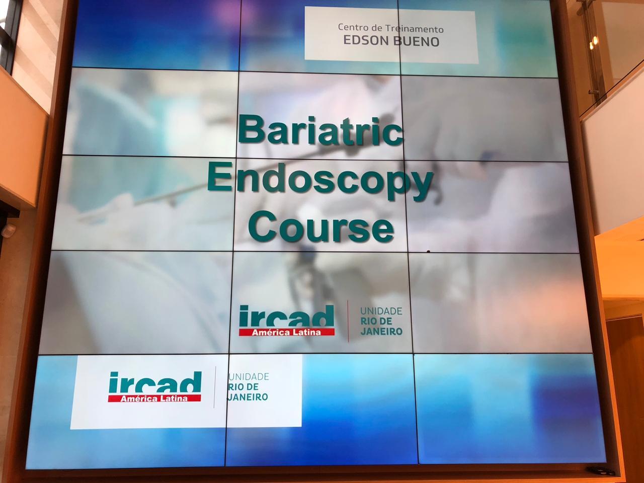 Curso de Endoscopia Bariátrica no IRCAD América Latina